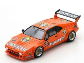 <img class='new_mark_img1' src='https://img.shop-pro.jp/img/new/icons12.gif' style='border:none;display:inline;margin:0px;padding:0px;width:auto;' />1/43 BMW M1 Jagermeister Racing Team ノリスリンク 1982 #33<br>