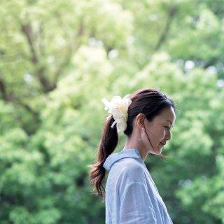 タンポポ|彩る咲き編みシュシュ