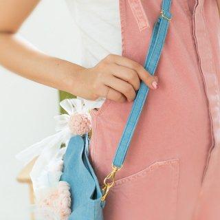 調節可能ストラップ|咲き編みクラッチ・ポシェットオプション