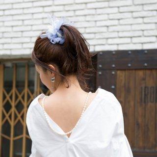 【夏限定】ドルフィン|彩る咲き編みシュシュ