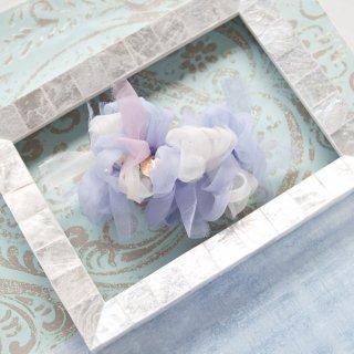 【限定】ドルフィン|彩る咲き編みバレッタ/ヘアクリップ