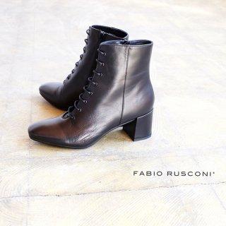FABIO RUSCONI ファビオルスコーニ 本革 レースアップ ブーツ (fabio-conny312)