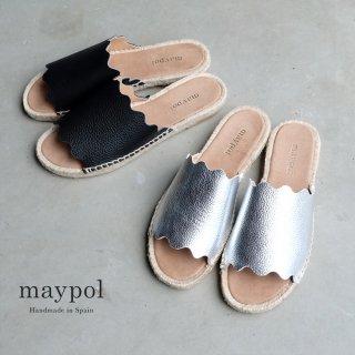 maypol モコモコフラットエスパサンダル (maypol-mati)