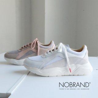 NOBRAND レディース 厚底 ダッドスニーカー (nobrand14395)