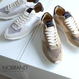 NOBRAND メンズ 本革 レザー スニーカー (nobrand15269)
