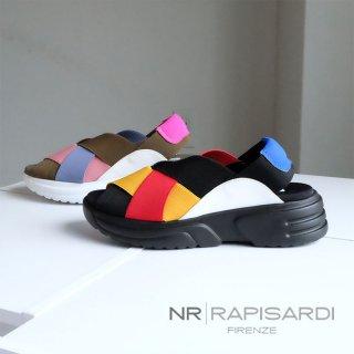 NR RAPISARDI イタリア製 ゴム 厚底 スポーツサンダル (rapisardi-flash2)