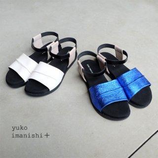 yuko imanishi+ ゴムストラップサンダル (yuko702023)