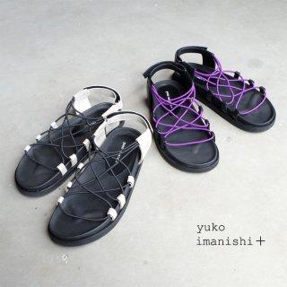 yuko imanishi+ 本革コードサンダル (yuko702026)