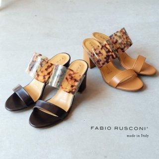 FABIO RUSCONI ファビオルスコーニ ミュールサンダル (fabio-fanny1114)