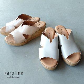 karoline スリッパウェッジサンダル (karoline71228)