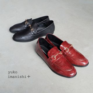 yuko imanishi+ フラットビットローファー (yuko791043)