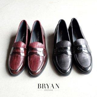 BRYAN STEPWISE  型押しコインローファー(bryan22527)