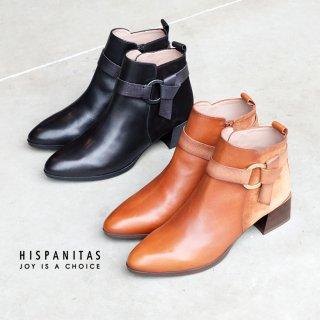 HISPANITAS ベルト付きショートブーツ (hispanitas645)
