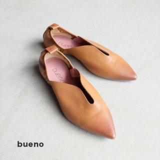 bueno ポインテッドバブーシューズ (bueno20wq2302-camel)