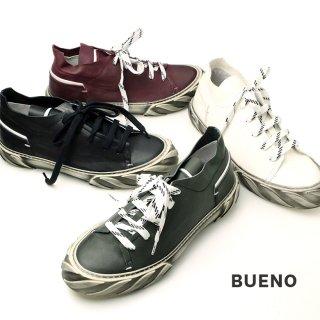 bueno メンズ/レースアップ レザースニーカー(bueno20mr8903)