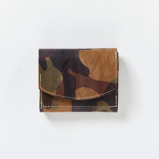 CAMOUFLAGE COMPACT WALLET