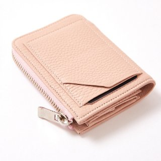 S.LEATHER J ZIP WALLET