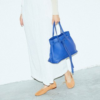 S.LEATHER BELT TOTE
