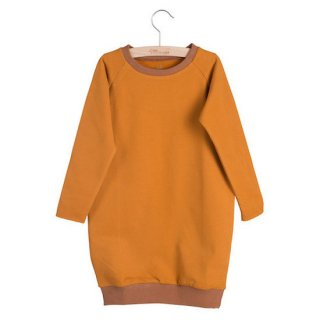 Little HEDONIST SWEATDRESS RUTH / Pumpkin-Argan