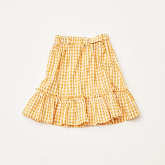 40%0FF - the campamento / GINGHAM CHECK SKIRT