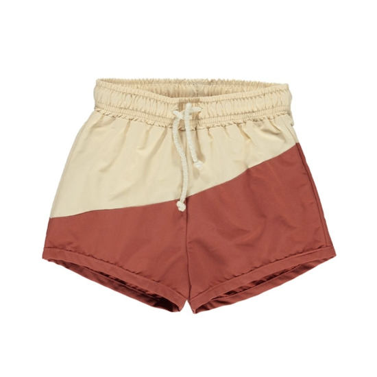Fin & Vince board shorts / custard-sky