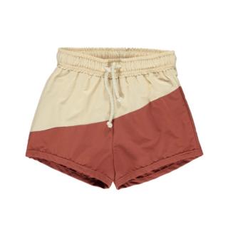 Fin & Vince board shorts / custard-sky