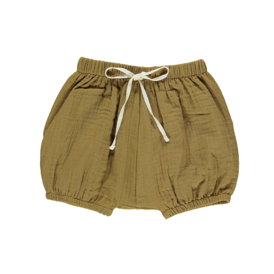 40%OFF - Fin & Vince bubble short / toffee