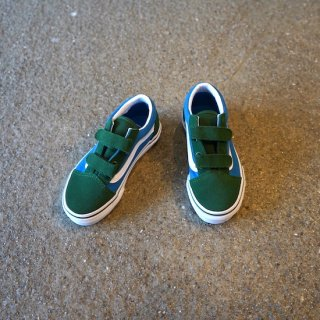 VANS OLD SKOOL V / GREEN