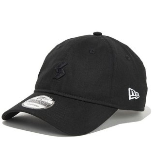 920CS LEGENDS NEW ERA CAP LOGO EMBROIDERY【BLACK】FREE