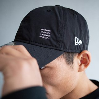 930CS LEGENDS NEW ERA CAP LETTERED PRINT【BLACK】FREE