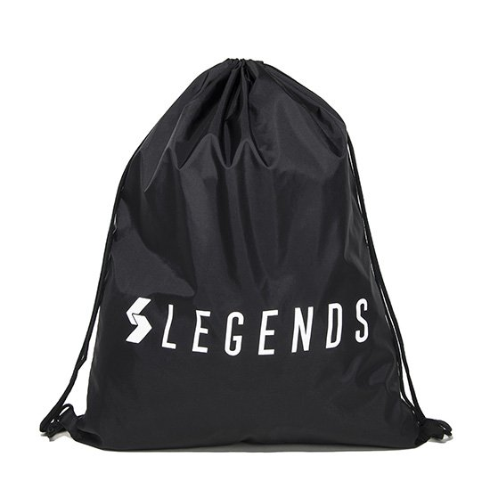 LEGENDS NYLON LOGO PRINT LAUNDRY BAG 【BLACK】FREE