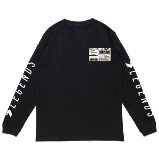 COTTON BIG WORLD PRINT L/S TEE