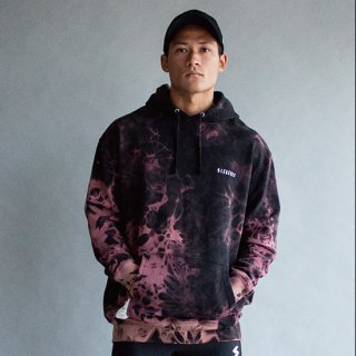 LEGENDS COTTON SWEAT BIG TIE DYE HOODIE