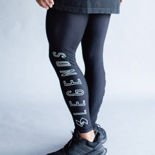 <img class='new_mark_img1' src='https://img.shop-pro.jp/img/new/icons5.gif' style='border:none;display:inline;margin:0px;padding:0px;width:auto;' />STRETCH OUTLINE LOGO PRINT LEGGINGS PANTS