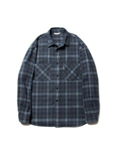 COOTIE  Ombre Check Work Shirt  CTE-19A404