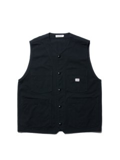 COOTIE  Rough Twill Work Vest  CTE-20S203