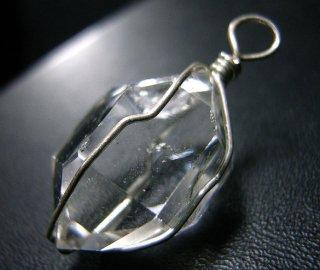 ペンダントトップ(ハーキマーダイヤモンド22)
