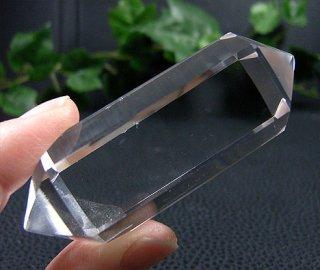 ポリッシュポイント(ダブルターミネーター103)両剣水晶