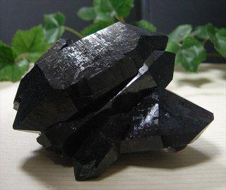 アーカンソー産黒水晶クラスター4