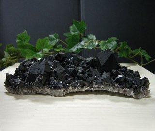 アーカンソー産黒水晶クラスター7