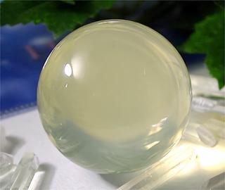 丸玉(イエローミルキークォーツ8)
