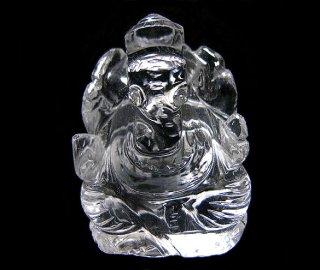 彫刻(ガネーシャ-水晶5)