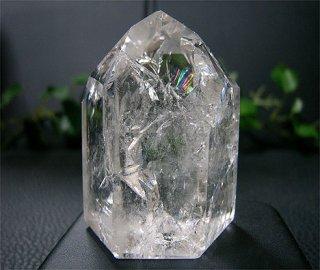 ポリッシュポイント(レインボー水晶314)