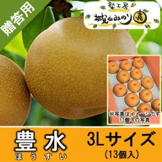【N-E3 豊水 3Lサイズ \3000】  農家 千葉 産直 梨