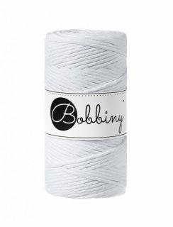 Bobbiny マクラメ シングル(3mm) ホワイト