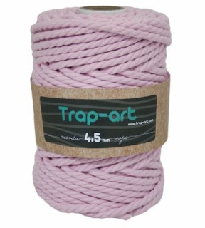 TRAP-ARTCotton Rope (3twl/6.5mm) ベビーピンク