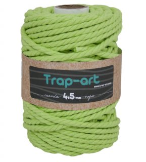 TRAP-ARTCotton Rope (3twl/6.5mm) ピスタチオ