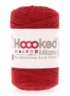 Hoooked Milano レッド(Punch)