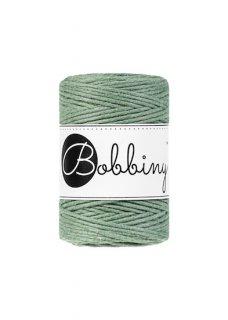 Bobbiny マクラメ シングル 2mm(1.5mm)ユーカリグリーン