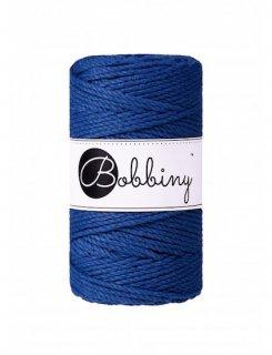 【限定】Bobbiny マクラメ3ply (3mm) クラシックブルー